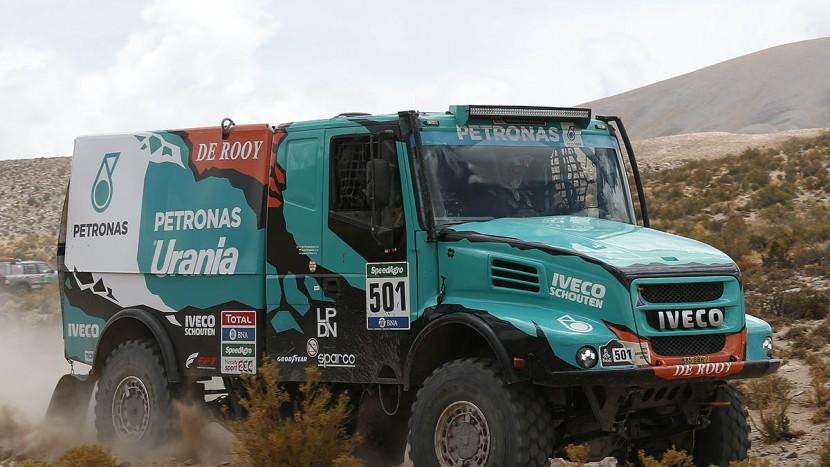 501 DE ROOY GERARD TORRALLARDONA MOISES RODEWALD DAREK (nld) IVECO action during the Dakar 2016 Argentina Bolivia, Etape 4 - Stage 4, Jujuy - Jujuy,  from  January 6, 2016 , Argentina - Photo Florent Gooden / DPPI