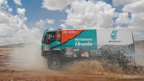 Performanță Iveco Powerstar in Raliul Dakar