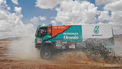 Performanță Iveco Powerstar in Raliul Dakar