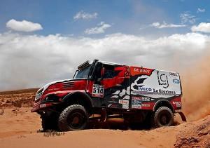 514 VILLAGRA FEDERICO PEREZ COMPANC JORGE MEMI ANDRES (arg) IVECO action during the Dakar 2016 Argentina, Bolivia, Etape 6 - Stage 6, Uyuni - Uyuni, from January 8, 2016 - Photo Frederic Le Floc'h / DPPI