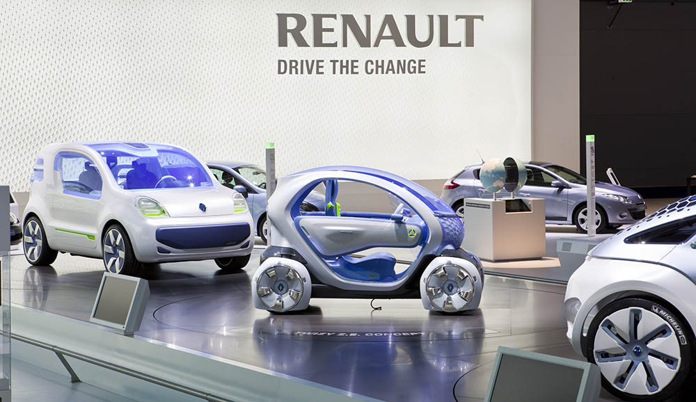 Vehicule electrice Renault