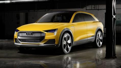 X6 din Ingolstadt. Audi H-Tron Quattro Concept alimentat cu hidrogen
