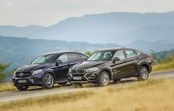 TEST Mercedes GLE Coupe versus BMW X6. În urmărirea originalului