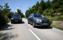 TEST Audi Q7 3.0 TDI versus BMW x5 30d. Schimbare de paradigmă