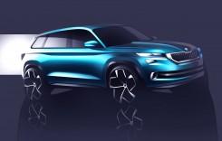Skoda SUV și toate secretele sale – VisionS Concept