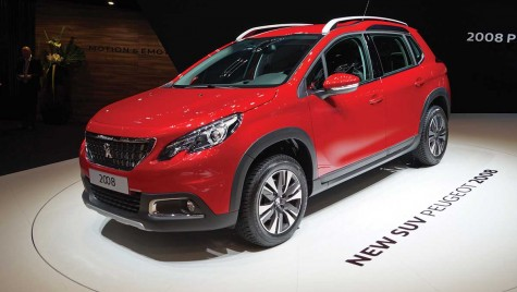 GENEVA 2016: Peugeot 2008 facelift – update discret, dar de efect
