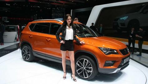 GENEVA 2016: Seat Ateca, primul SUV din istoria Seat