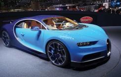 GENEVA 2016: Bugatti Chiron, 1.500 CP pentru urmașul lui Veyron