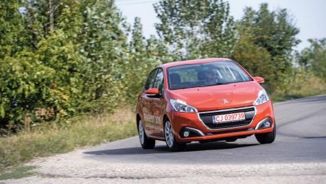 Peugeot 208 facelift 1.2 PureTech 82 – Rafinat și eficient