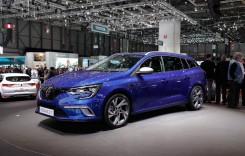 Renault Megane Estate și noul Scenic au strălucit la Geneva