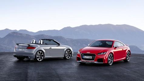 Audi TT RS: spre R8, cu toate pânzele sus
