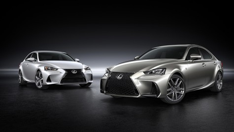 Refresh: noul Lexus IS