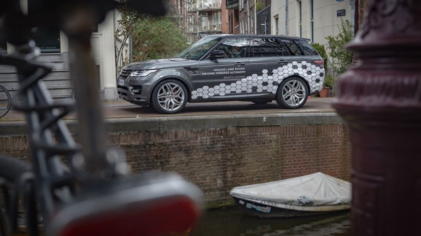 2016 Range Rover Sport autonom