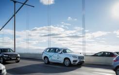 Experimentul Volvo: rulare autonomă în trafic real