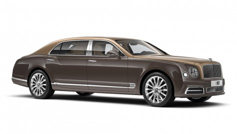 Lux suprem: Bentley Mulsanne First Edition