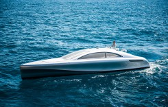 Yacht made by Mercedes-Benz