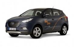 Hyundai ix35 Fuel Cell pentru car sharing în Munchen