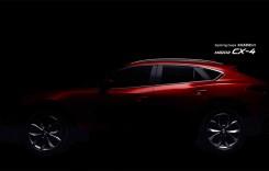 Imagini teaser cu Mazda CX-4