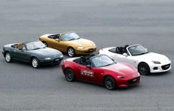 Mazda MX-5 bate milionul