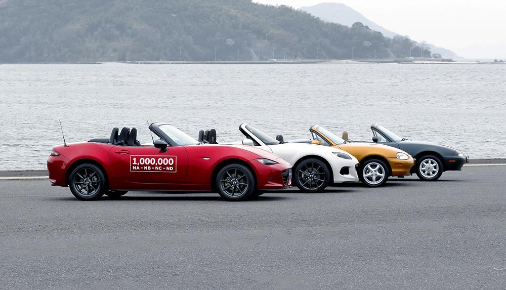Mazda MX-5 1 milion