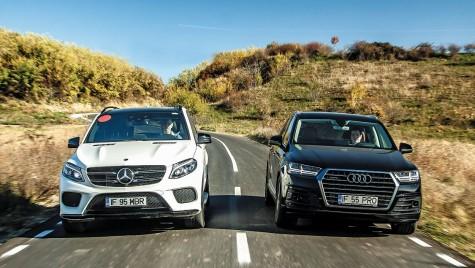TEST Audi Q7 3.0 TDI versus Mercedes-Benz GLE 350 d