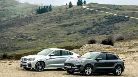 Test BMW X4 xDrive 35d vs Porsche Macan S Diesel