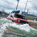 2016 Jeep Renegade rafting