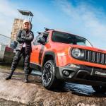 2016 Jeep Renegade rafting Aimee Fuller