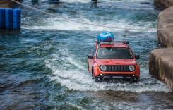 Jeep Renegade, pe traseul olimpic de rafting