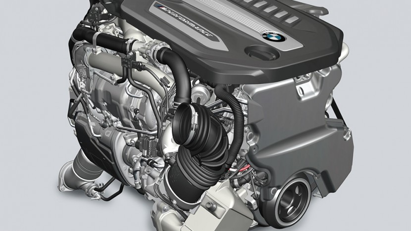 Motor BMW M750d