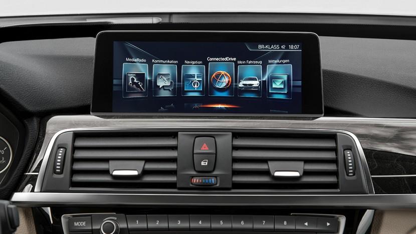 2017 BMW infotainment