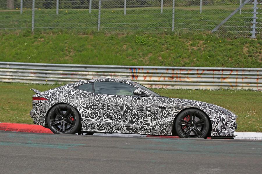 2017 Jaguar F-Type Nurburgring