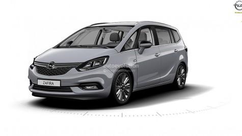 Iată viitoarea generație Opel Zafira!