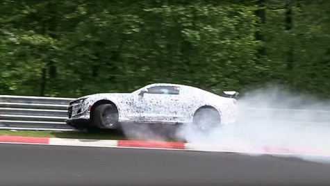 Chevrolet Camaro Z/28: accident pe Nurburgring
