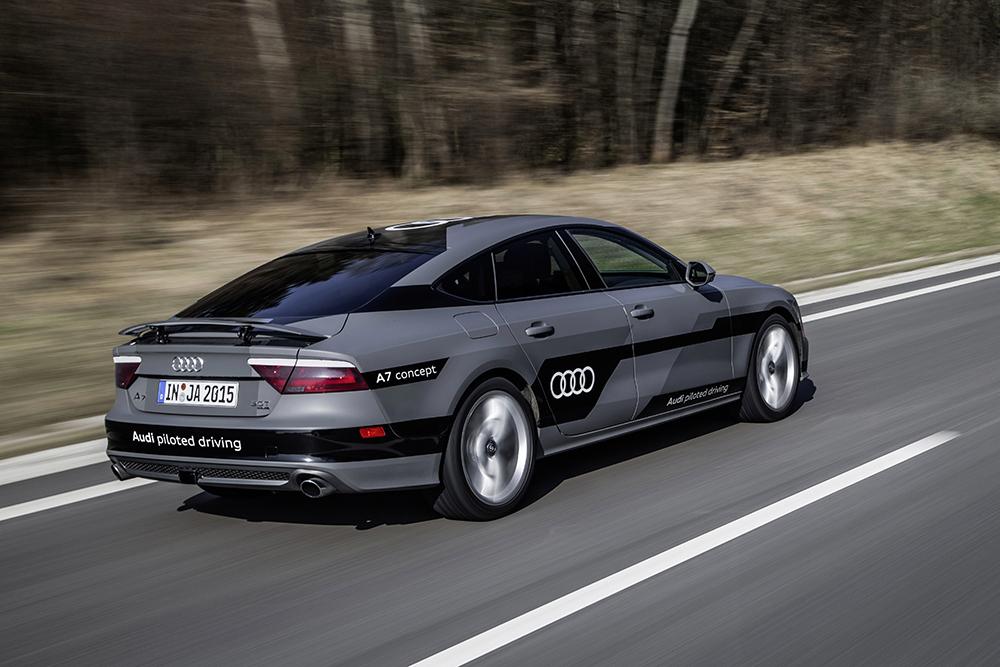 Audi A7 autonom