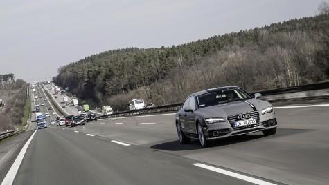 """Ce-l face pe Audi A7 autonom mai """"uman"""""""