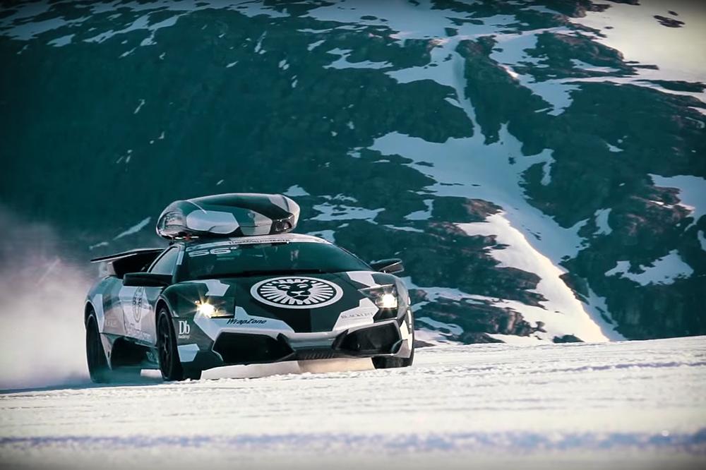 Lamborghini Murcielago LP 640 zapada