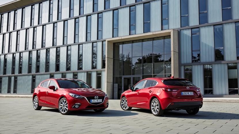 Mazda3 hatchback sedan