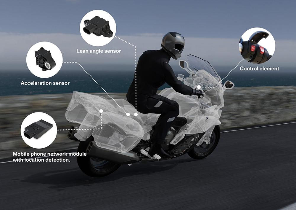 SOS BMW moto