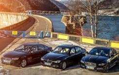 TEST CLASA MEDIE: Audi A4 2.0 TDI versus BMW 320d, Jaguar XE 2.0d