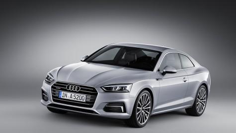 Audi A5, în sfârșit, prezentat oficial!