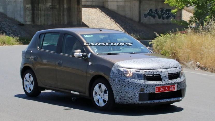 2016 Dacia Sandero facelift