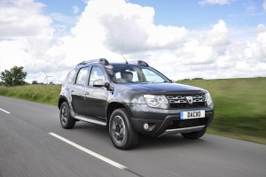 Dacia Duster la Goodwood
