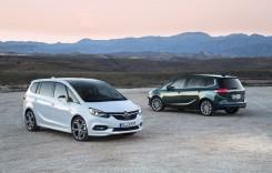 Noul Opel Zafira – informații oficiale