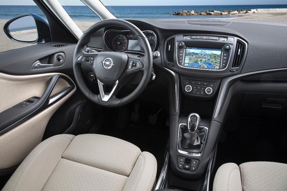 2017 Opel Zafira interior