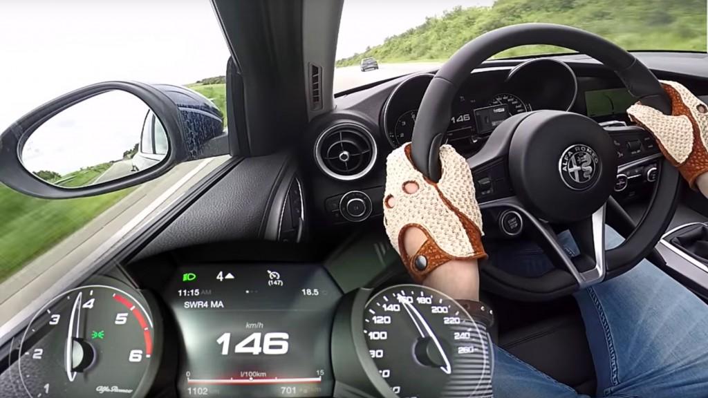 Alfa Romeo Giulia 2.2 Multijet acceleratie