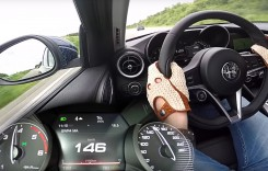 Alfa Romeo Giulia 2.2 Multijet – 0-180 km/h