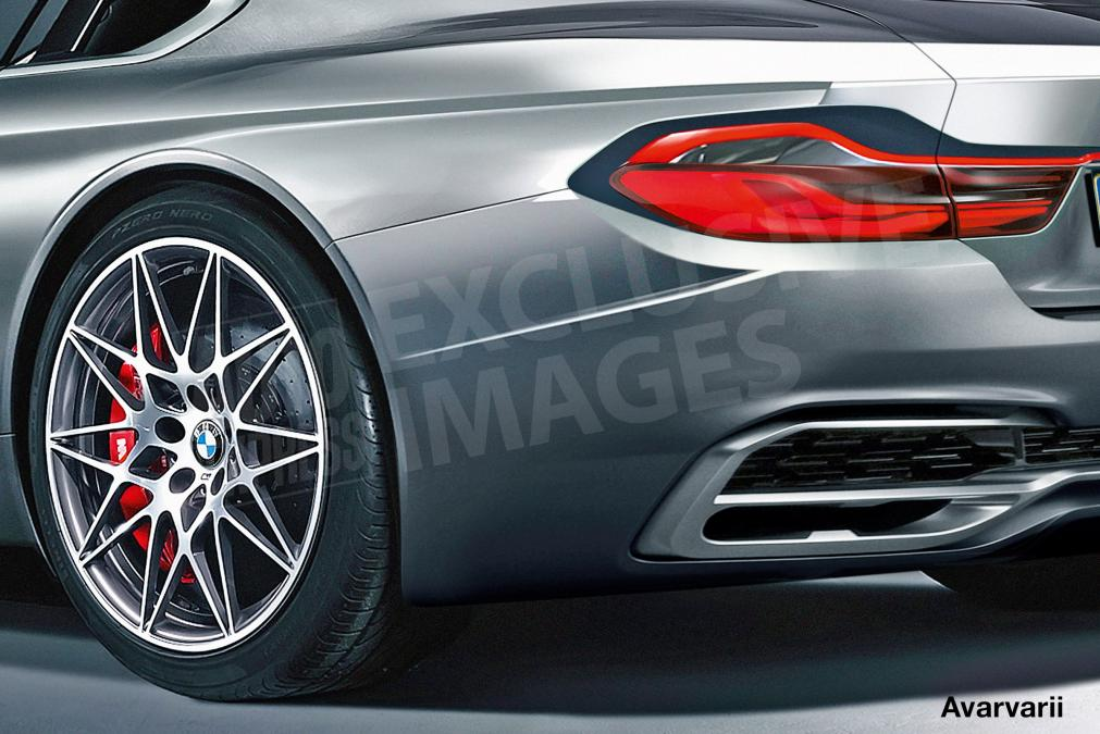 BMW Seria 6 rendering