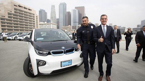"""BMW i3 pentru LAPD: """"nino-nino"""" fără """"vrum-vrum"""""""