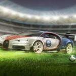 Bugatti Chiron Franta Euro 2016